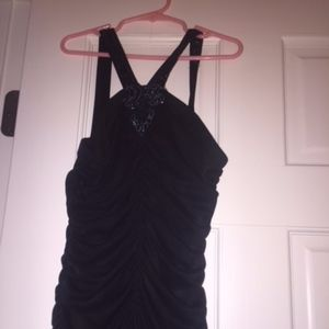 Black Ruffle Like Dress